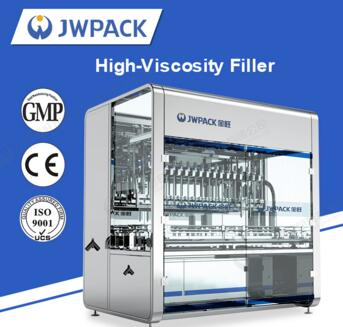 JWPACK New Product CCG1000-16GD Automatic high viscosity filling machine liquid packaging machinery