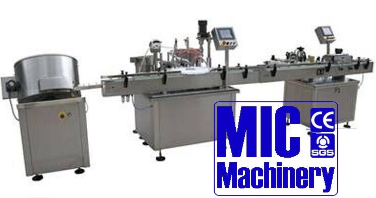 Micmachinery MIC-120B automatic eyedrop filling stoppering capping machine