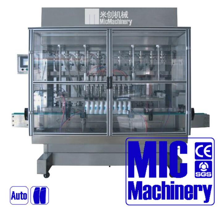 Micmachinery widely used high stable plastic bottle liquid filling machine round bottle filling capping machine
