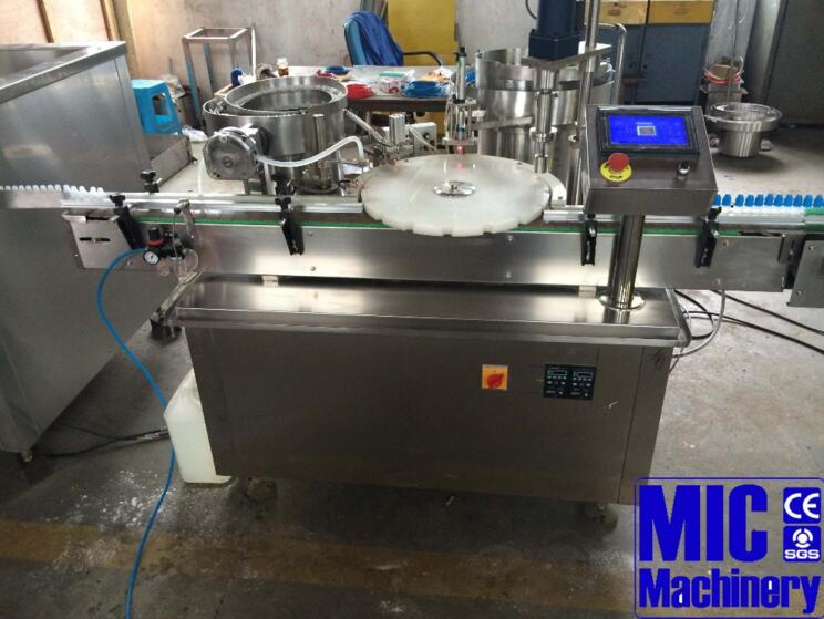 Micmachinery high stable bottle filling and capping machine small bottling equipment automatic bottle filler