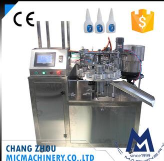 MIC Manual Operation Bottle Loading Automatic Capsule Filling Machine with Bottle Capping Machine