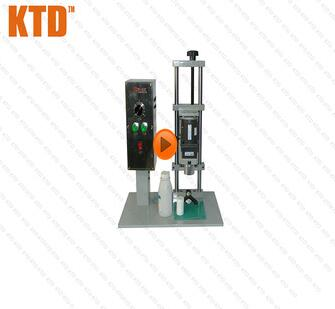 Semi automatic CE ISO Good Feedback Electric Capping Machine Glass Bottle Screw Capper Bottle Capping Machine