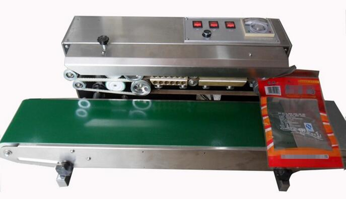 High Quality Plastic Bag Continuous Band Sealing Machine
