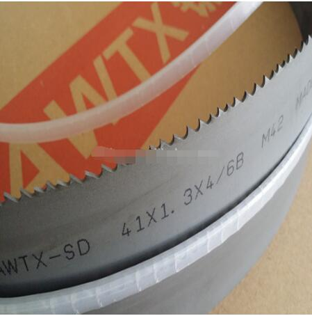 High speed steel m42 bimetal band saw blade