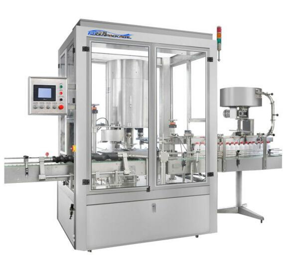XG-6B AC 380V 50Hz Full automatic rotary capping machine