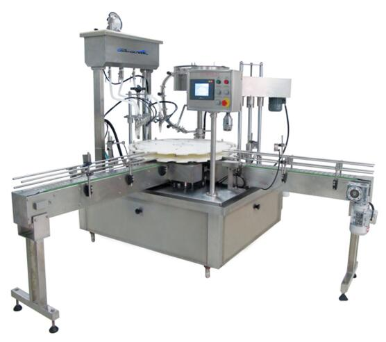 DGP-4-1 AC 220V 50Hz Automatic filling and capping machine