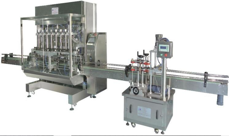 FLK Series filling and capping machine for cosmetic products