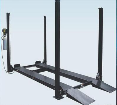 4 post electric lift for ccd alignment. Black Bedroom Furniture Sets. Home Design Ideas