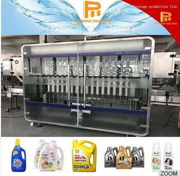 Automatic Viscous Liquid Filling Machine for Oil, Laundry Detergent, Shampoo