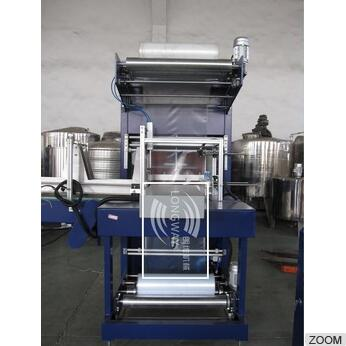 ZQCD-6545 Special design Automatic PE film heating shrink wrapping machine for 5L PET bottle