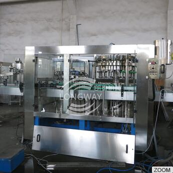 Longway star Automatic Carbonated Juice Filling manufacturing machine