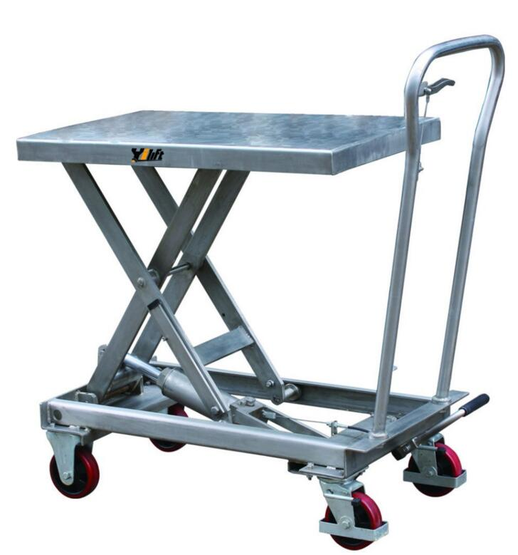ANSI/ASME safety standard Stainless Lift Table 300kg