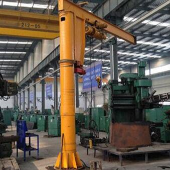 CE Certification lectric Hoist Work Shop Light Duty Jib Column Crane