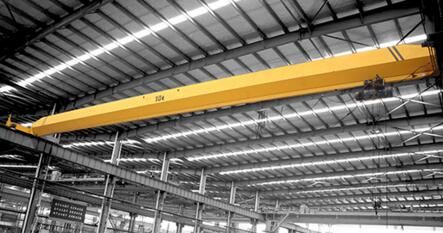 Low Headroom Shop 10Ton Mobile Single Beam Overhead Crane With Remote Control