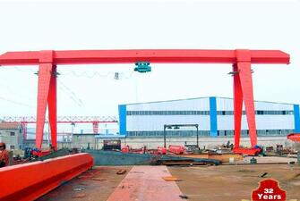MH Model 32 Ton Single Beam Light Duty Shop Gantry Crane For Sale
