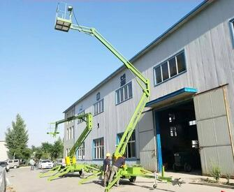 Factory sell high quality trailer mounted articulating boom lifts