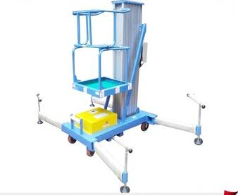 LZGTWY Factory sell aluminum mobile single vertical personnel lift
