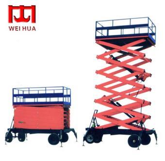 4m -18m mobile hydraulic scissor lift hydraulic loading platform
