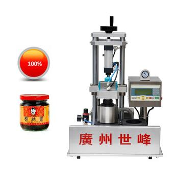 desktop glass bottle vacuum packaging machine for food industrial