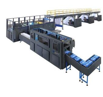 A4 Printing copy Paper Cutting & Packaging Line