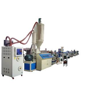 PET bottles for packing tape band line