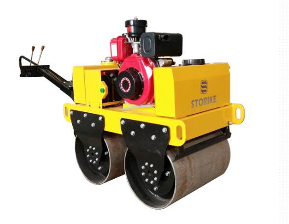 Ручной дорожный каток с двумя стальными колесами SVH-50