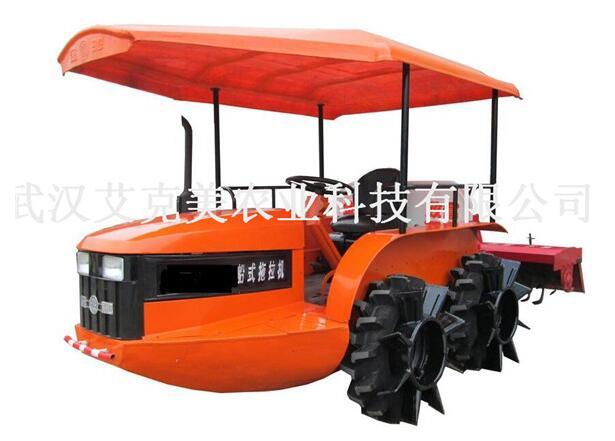 配置常柴4L88柴油机的农用机械船式拖拉机