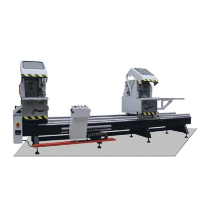 Precision Aluminum Double Angle Sawing for Doors and Windows
