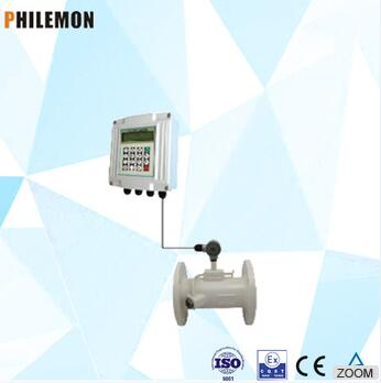 china low cost outside type china ultrasonic flowmeter