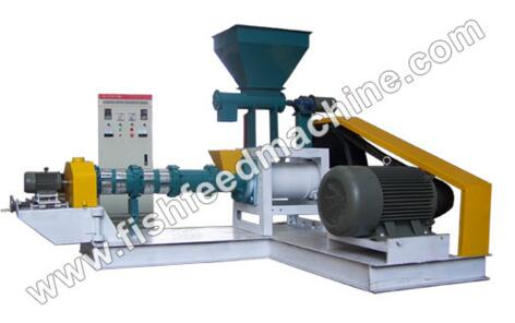 Dry Type Fish Feed Machine Ams-dgp50 With 0.06-0.08t/h Production