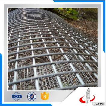 Hot Dipped Steel Matting Galvanized Welded Wire Mesh Fence Panels For Construction