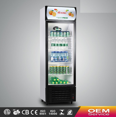 Glass display commercial showcase supermarket equipment