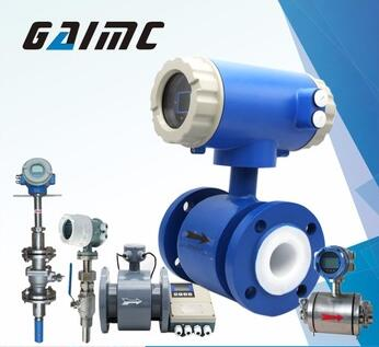 GAIMC LCD Digital Water Electromagnetic Flow Meter