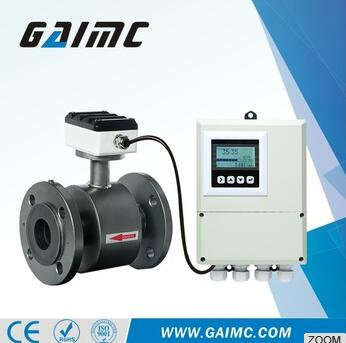 GMF100 Remote control Magnetic water flowmeter