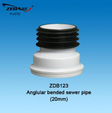 Toilet bowl displacement connector tube/shifting tube/WC pan sewer pipe,