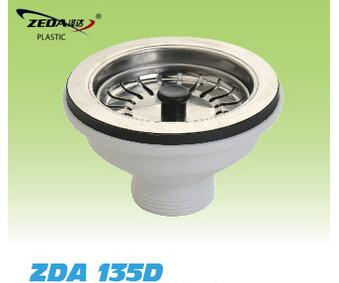 kitchen sink waste coupling/drainer strainer/Vegetable sewer