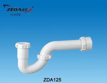 Sink waste drain pipe,Plumbing Trap,P-bended sewer