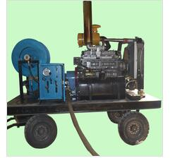 High pressure water jet sewer drain pump cleaner cleaning machine
