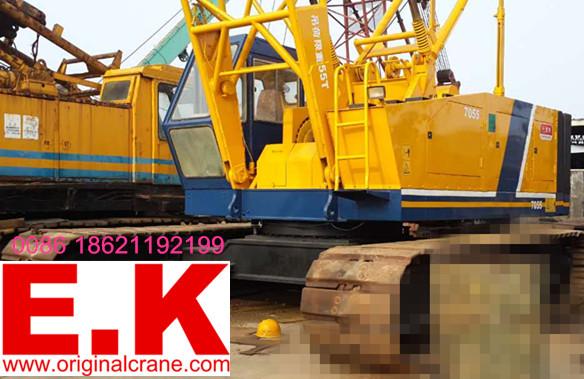 41m Long Boom Japanese Kobelco Hydrauclic Crawler Crane (7055)