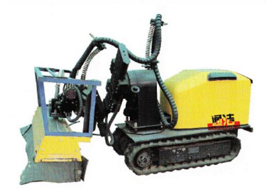 concrete demolition system for scarifying concrete