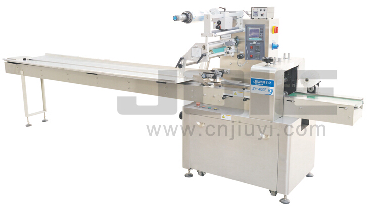 JY-400E Automatic flow wrapping machine