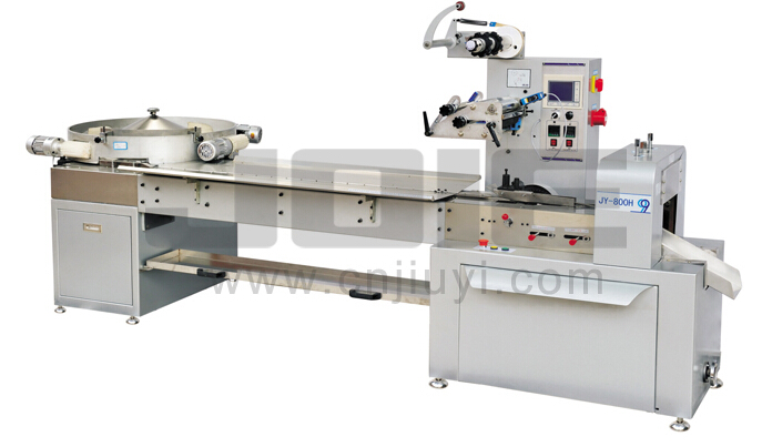 JY-800H Automatic high speed flow wrapper with candy sorter