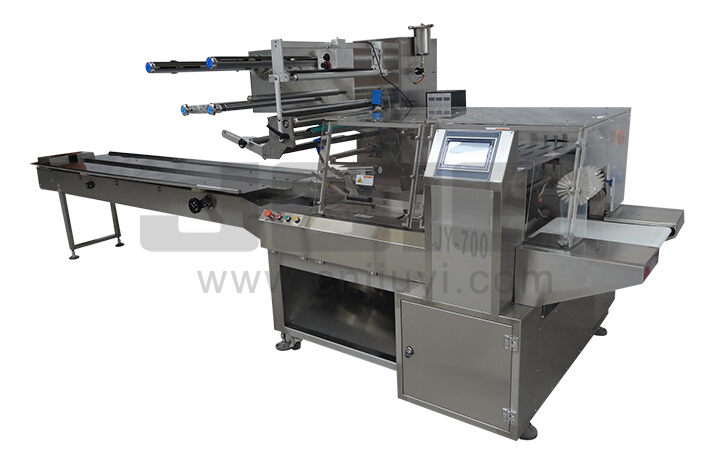 JY-700 Flow wrapping machine