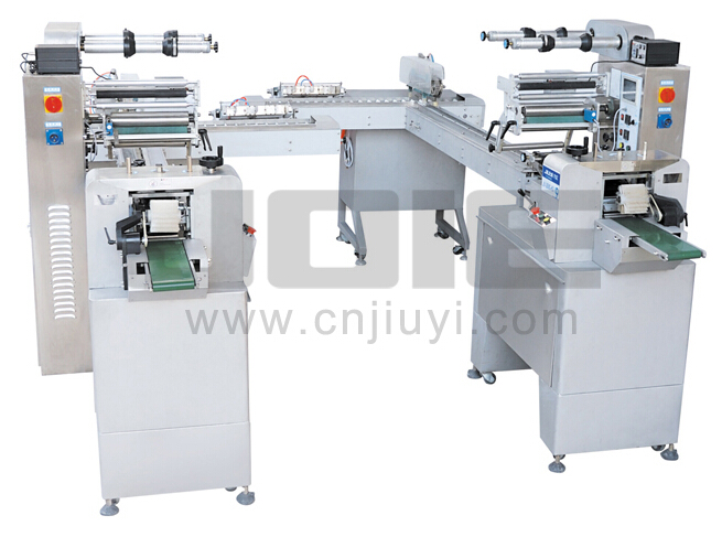 JY-350C-HSII dual-channel ice cream Automatic packing machine