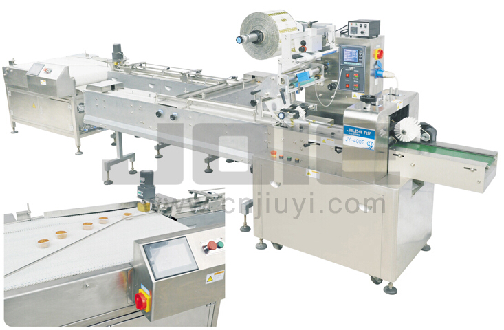 JY-400E Full Automatic feeding and packaging system
