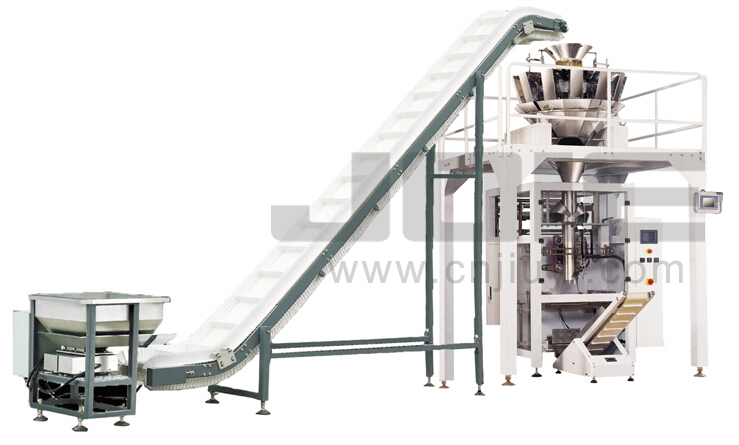 Multi-head Combination Weigher Full Automatic Packaging Machine