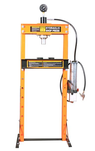 Hydraulic Shop Press With Gauge DL0740A