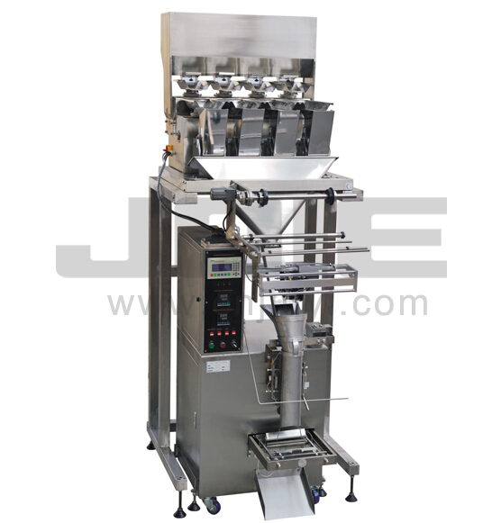JEV-500FW Automatic powder packaging machine with four weighers