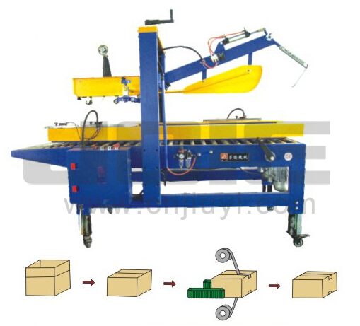 Auto flap case-sealing machine