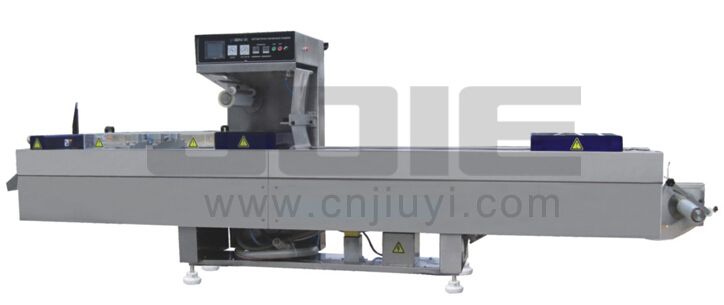 JE-320AV AUTOMATIC VACUUM FORMING AND PACKING MACHINE